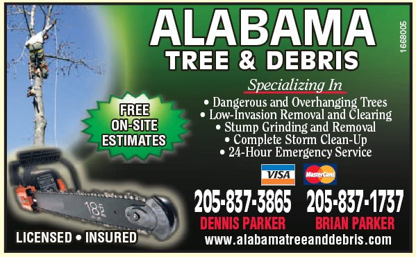 Alabama Tree and Debris - 205-837-3865